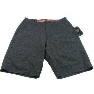 Under Armour UA Heatgear Grey Golf Shorts Size 32